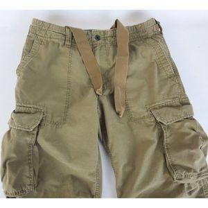 Polo Jeans Ralph Lauren 32x28 Cargo Military Pants